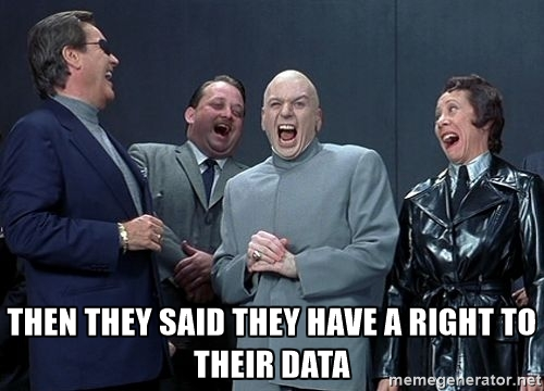 Solicitors should consider their data